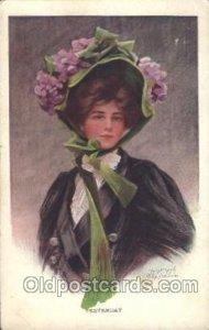 Artist Signed Philip Boileau 1909 very small crease right top corner tip, min...