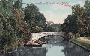 Garrett Hostle Bridge from Trinity, Cambridge, England, 1900-10s