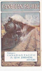 Poster Art: CANADIAN PACIFIC Railroad Train, 00-10s