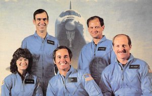Space shuttle orbiter challenger crewmembers Florida, USA Space Unused