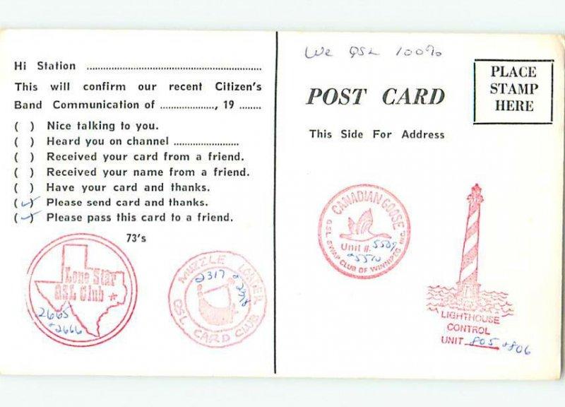 Pre-1980 RADIO CARD - CB HAM OR QSL Middletown Delaware DE AH2770