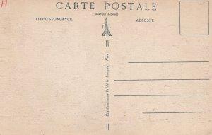 SOSPEL, Alpes Maritimes, France, 1900-1910s; Les Lacets De La Route Du Col De...