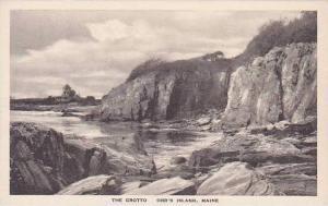 Maine Orrs Island The Grotto Albertype