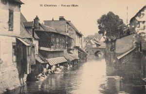 CHARIRES , France, 1900-10s ; Vue sur l'Eure