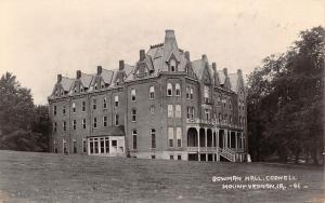 Mt Mount Vernon Iowa~View of the Beautiful Bowman Hall~Cornell College RPPC 1924