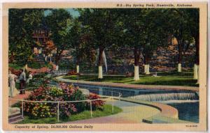 Big Springs Park, Huntsville Ala
