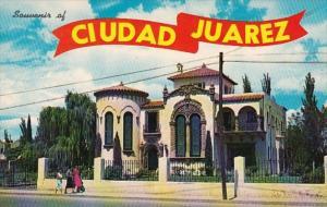 Mexico Juarez Ciudad Beautiful Home Along Avenida 16th de Septiembre