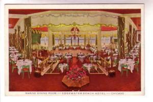 Marine Dining Room Edgewater Beach Hotel Chicago, Illinois, Max Rigot Interior,