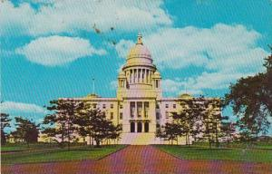 Rhode Island Providence Pictured State Capitol