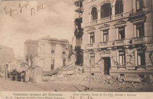 Valparaíso Earthquake, Gran Avenida, Chile, 1906