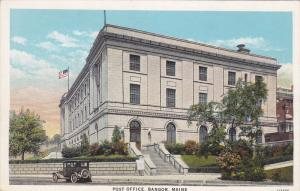 Post Office , BANGOR , Maine , 00-10s
