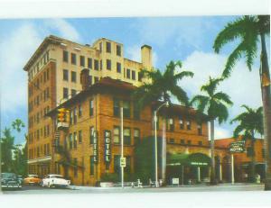 Unused Pre-1980 FRANKLIN ARMS HOTEL Fort Myers Florida FL hr3745