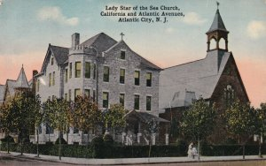 ATLANTIC CITY, New Jersey, 1900-1910s; Lady Star Of The Sea Church