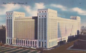 CHICAGO, Illinois, 1930-1940's; New Post Office
