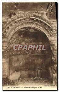 Old Postcard Baalbek Niche Octogon