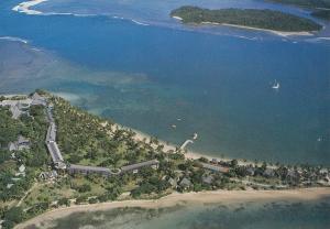 Fijian Hotel Viti Levu Resort Fiji Aerial Postcard