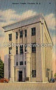 Masonic Temple in Charlotte, North Carolina