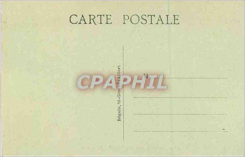 Old Postcard The picturesque Auvergne 3909 gorges of the Dordogne aveze