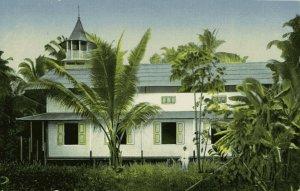 indonesia, BATOE BATU, Church on Tello (1910s) Lutheran Mission Postcard