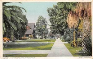 Los Angeles California 1912 Postcard Chester Place