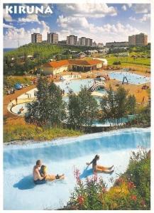 Sweden Kiruna Norrskensbadet Tomas Utsi Swimming Pool Panorama