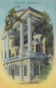 South Carolina Charleston Ashley Hall 1954