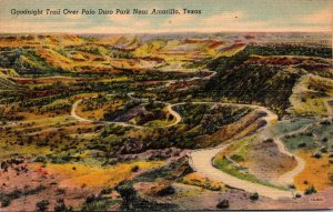 Texas Palo Duro Park Goodnight Trail