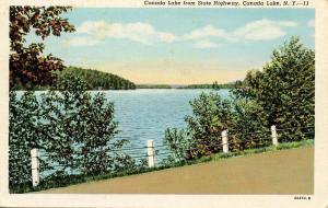 NY - Canada Lake