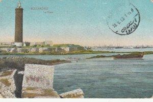 ALEXANDRIE , Egypt , 1913 ; LIGHTHOUSE