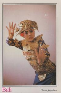 Thailand Ladyboy Ladyboys Jaya Dance Dancer Thai Postcard