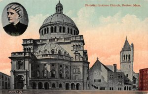 Christian Science Church, Boston, Massachusetts, early postcard, unused