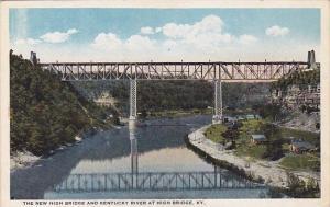 The New High Bridge And Kentucky River At High Bridge Kentucky