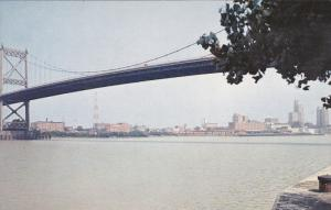 High Level Bridge Across Maumee River, Toledo Ohio 1940-60s