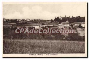 Postcard Old Fleurie Colombiers