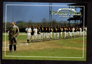 PA Forbes Field Stadium Pittsburgh Pennsylvania Postcard Pirates Bob Prince