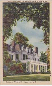New Jersey New Brunswick The Wood Lawn College For Women The Alumnae House