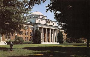 Davidson North Carolina~Davidson College Campus~Chambers Building~1960s Postcard
