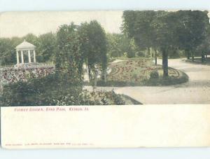 Pre-1907 PARK SCENE Keokuk Iowa IA H4044