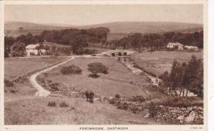 DARTMOOR, Devon, England, 1900-1910's; Postbridge