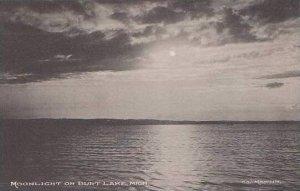 Michigan Burt Lake Moonlight Albertype