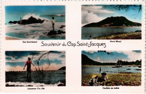 CPA AK VIETNAM - Souvenir du Ca Saint-Jacques (85051)