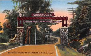 Ontario   Gananoque     The Western Gate to  Gananoque