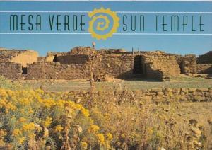 Arizona Mesa Verde National Monument Sun Temple