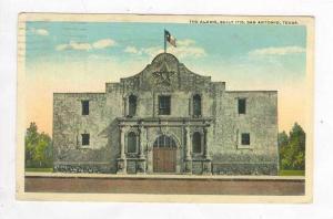 The Alamo, San Antonio, Texas, PU-1921 Closeup