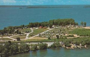 Tudhope Park Lake Couchiching Highway 12a 12b Orillia Ontario Canada Postcard