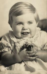 Princess Margaretha of Sweden (1935) RPPC
