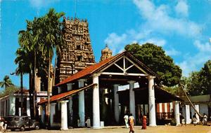 Jaffna Ceylon, Ceylan Kandaswamy Hindu Temple at Nallur Jaffna Kandaswamy Hin...