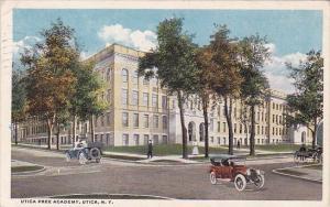 New York Utica Free Academy 1917