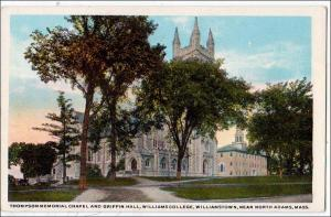 Thompson Memorial Chapel & Griffin Hall, Williams College, N