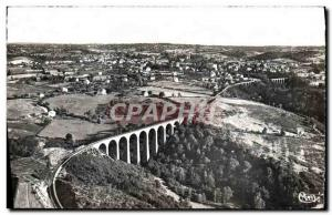 CPM Neris les Bains Aerienne View Over the Viaducts